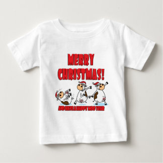 Happy Christmas Breakdancing Baby T-Shirt