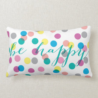 Happy Confetti Pillow