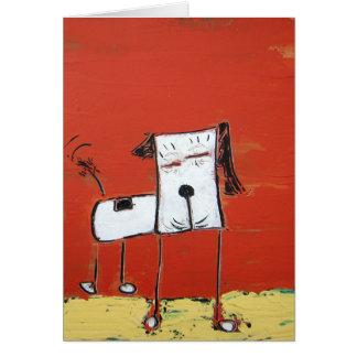 Happy Dog Dog Notecard - Art by Dan Robertson