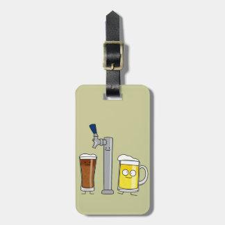 Happy Draft Beers Luggage Tag
