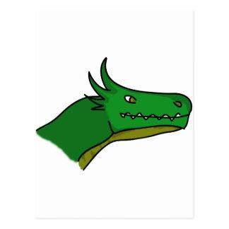Happy Dragon 1st Edition Postcard