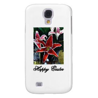 Happy Easter b Black Tiger Lily The MUSEUM Zazzle Galaxy S4 Case