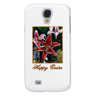 Happy Easter b Orange Tiger Lily The MUSEUM Zazzle Galaxy S4 Covers