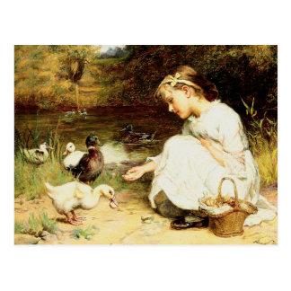 Happy Easter. Customizable Fine Art  Postcards