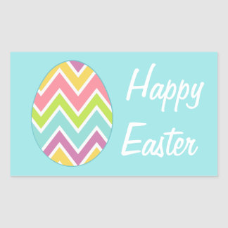 Happy Easter Egg Holiday Gift Stickers