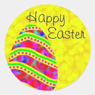 Happy Easter Egg Sticker