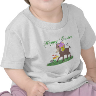 Happy Easter Goat T Shirts