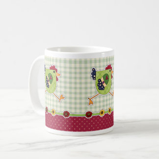 Happy Easter. Hen Country Design Gift Mugs