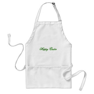 Happy Easter l Green The MUSEUM Zazzle Gifts Apron