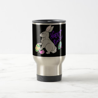 Happy Easter Stainless Steel Travel Mug