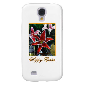 Happy Easter o Gold Tiger Lily The MUSEUM Zazzle G Galaxy S4 Cover