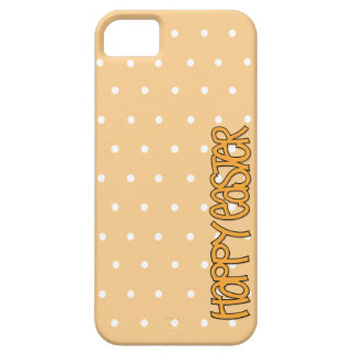Happy Easter orange iPhone 5 Barely There Case Case For The iPhone 5