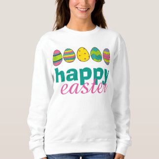 Happy Easter Painted Egg Hunt Eggs Sweatshirt