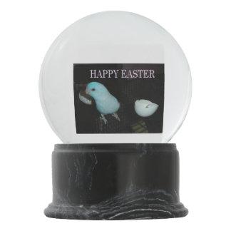 Happy Easter Snow Globe