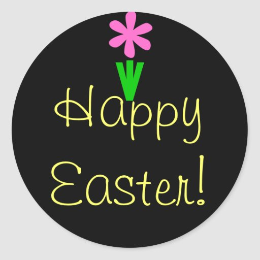 Happy Easter! Sticker
