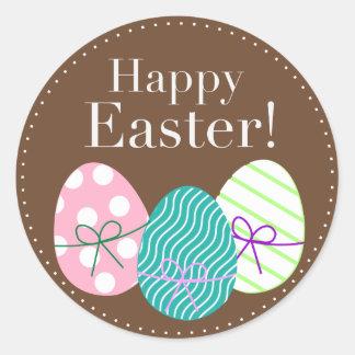 Happy Easter Round Sticker