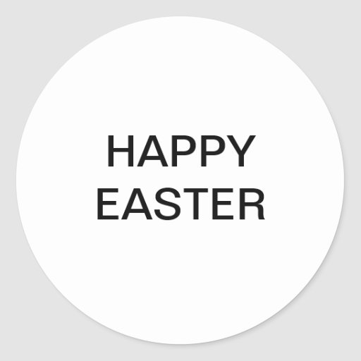 Happy Easter sticker for sale