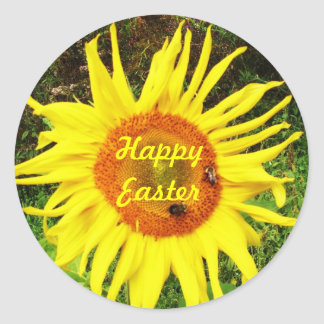 HAPPY EASTER SUNFLOWER stickers