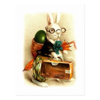 Happy Easter. Vintage Design Easter Postcards