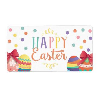 Happy Easter Water Bottle Wraps, Easter Sticker