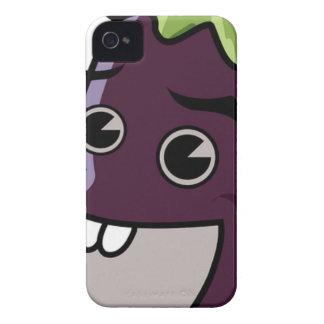 Happy Eggplant Case-Mate iPhone 4 Cases