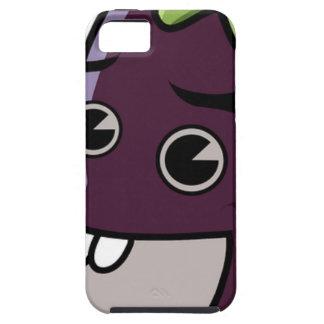 Happy Eggplant iPhone 5 Cover