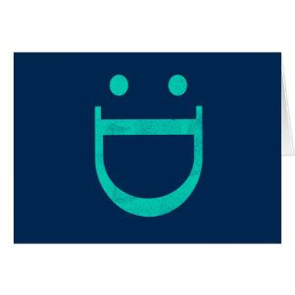 Happy Face, Congratulations Card