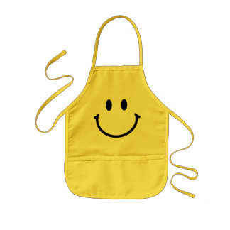 Happy Face Kids Apron