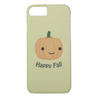 Happy Fall - Cute Pumpkin iPhone 8/7 Case