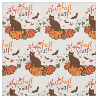 Happy fall y'all! fabric
