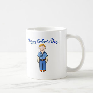 Happy Father s Day Dad with smiling father Mugs