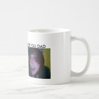 HAPPY FATHER'S DAY BASIC WHITE MUG