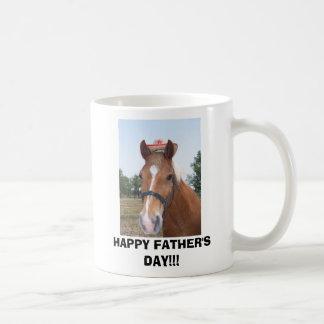 HAPPY FATHER'S DAY!!! BASIC WHITE MUG