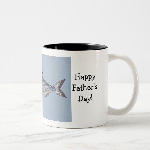 Happy Father's Day Fish Mug