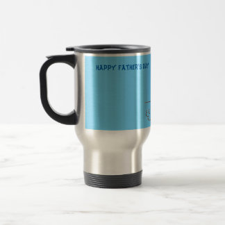 Happy Father's Day - Fishing Boat Stainless Steel Travel Mug