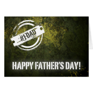 Happy Father's Day Greeting Card with Funny Poem