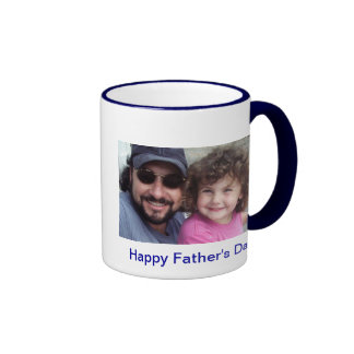 Happy Father's Day Ringer Mug