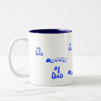 Happy Father's Day ! Two-Tone Coffee Mug