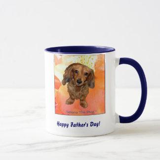 """Happy Father's Day!"" mug by Tatiana The Dog"