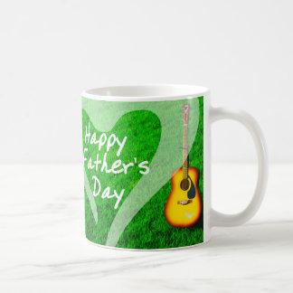 Happy Father's Day Music Basic White Mug
