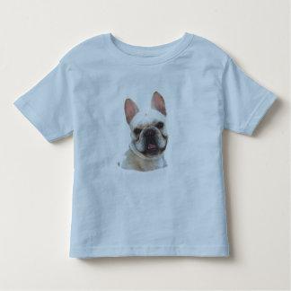 Happy french bulldog kids shirt