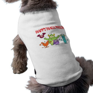 happy funny halloween monsters shirt