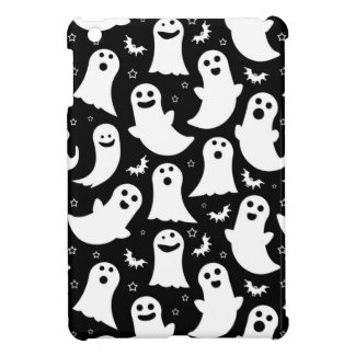 Happy Ghosts Pattern Cover For The iPad Mini