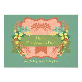 Happy Grandparents Day Card 13 Cm X 18 Cm Invitation Card