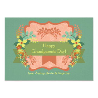 Happy Grandparents Day Card Custom Announcement