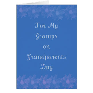 Happy Grandparents Day Gramps Card