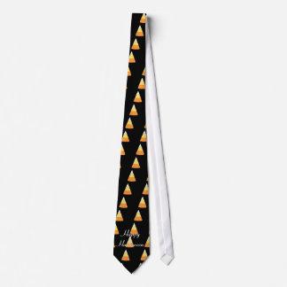 Happy Halloween Candy Corn Tie
