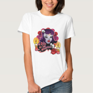 Happy Halloween - Day of The Dead T Shirt