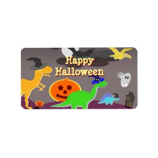 Happy Halloween Handout Label Stickers