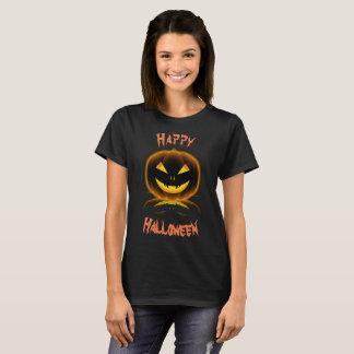 Happy Halloween Jack-O-Lantern Pumpkin Haunted T-Shirt